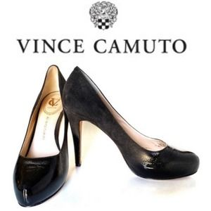 Vince Camuto Ombré Bronwyn Leather & Suede Pumps